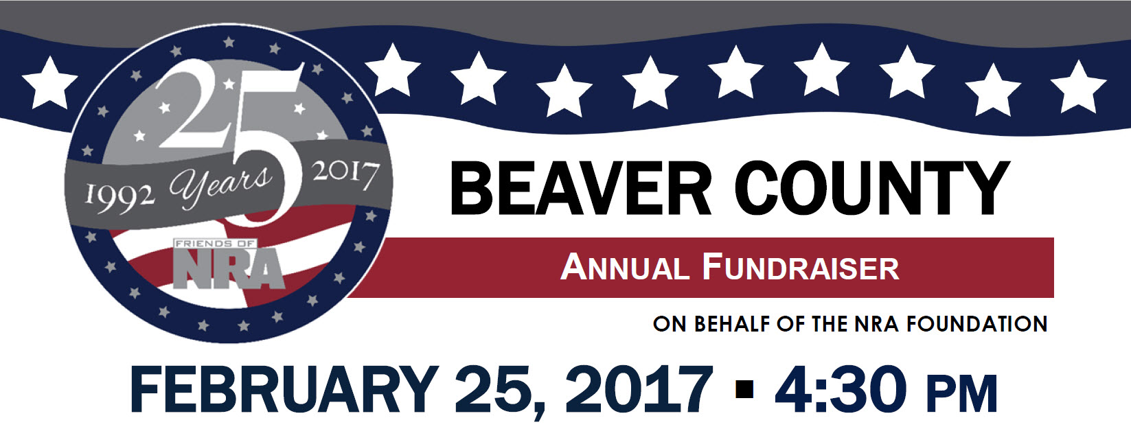 Beaver County Annual Fundraiser Friends of NRA