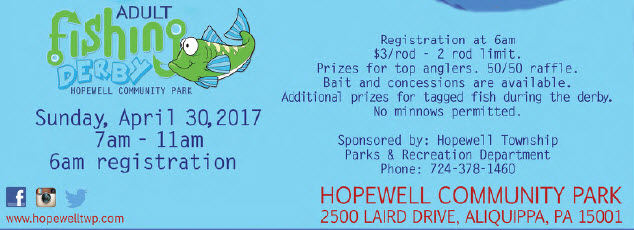 2017 adult fishing derby for Pa fish for free days 2017