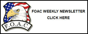 FOAC WEEKLY NEWSLETTER