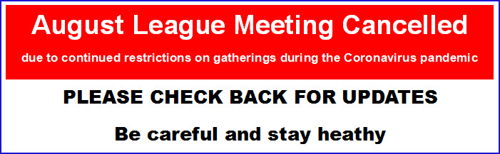 August Meeting Cancelled