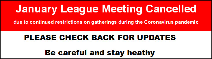 League Meeting Cancelled